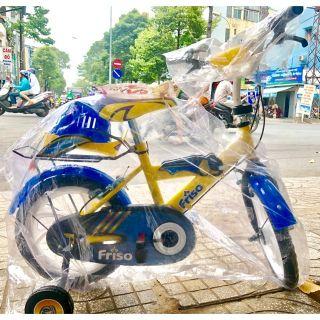 Xe đạp 14 inch cho bé & Hàng Km Friso do nhựa chợ lớn sx