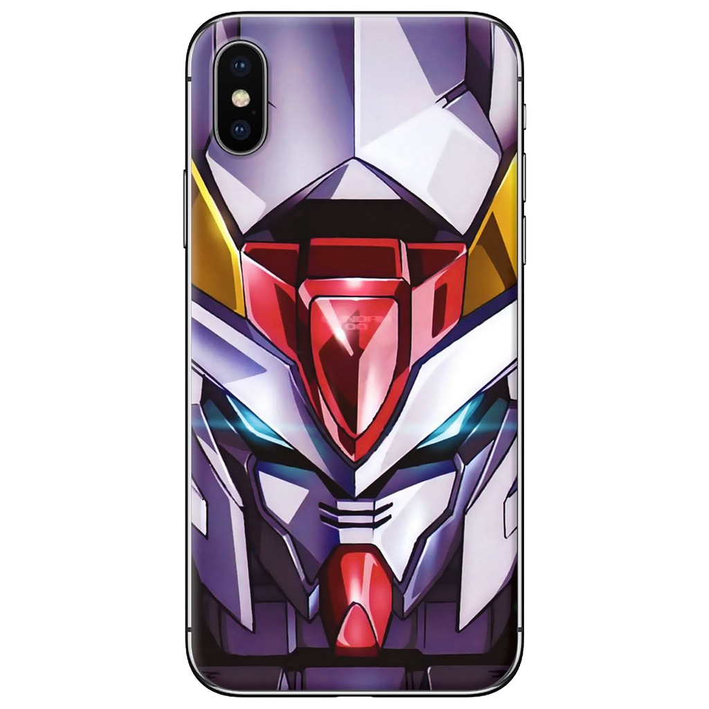 Ốp lưng iPhone X - nhựa dẻo Gundam