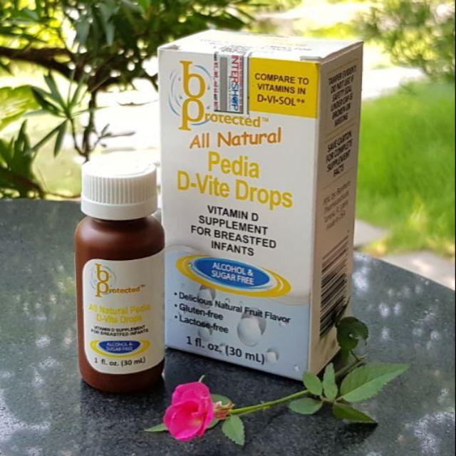 Vitamin D cho trẻ sơ