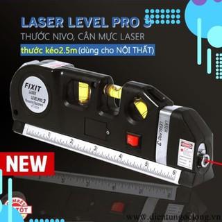 ❤️Deal Sốc❤️ Thước Nivo, thước laser, căn mực 4in1 Laser Level Pro 3 206418