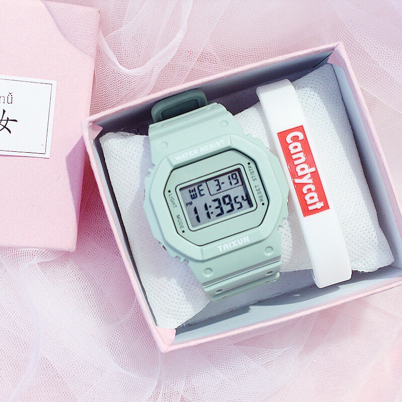 Đồng hồ điện tử nam nữ Taixun cực đẹp QA983