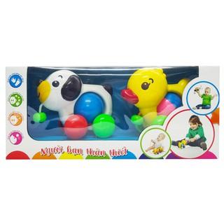 Đồ chơi Thú cưng tinh nghịch Bộ đôi hoàn hảo Sato bằng nhựa nguyên sinh an toàn cho bé ( SATO 77 )