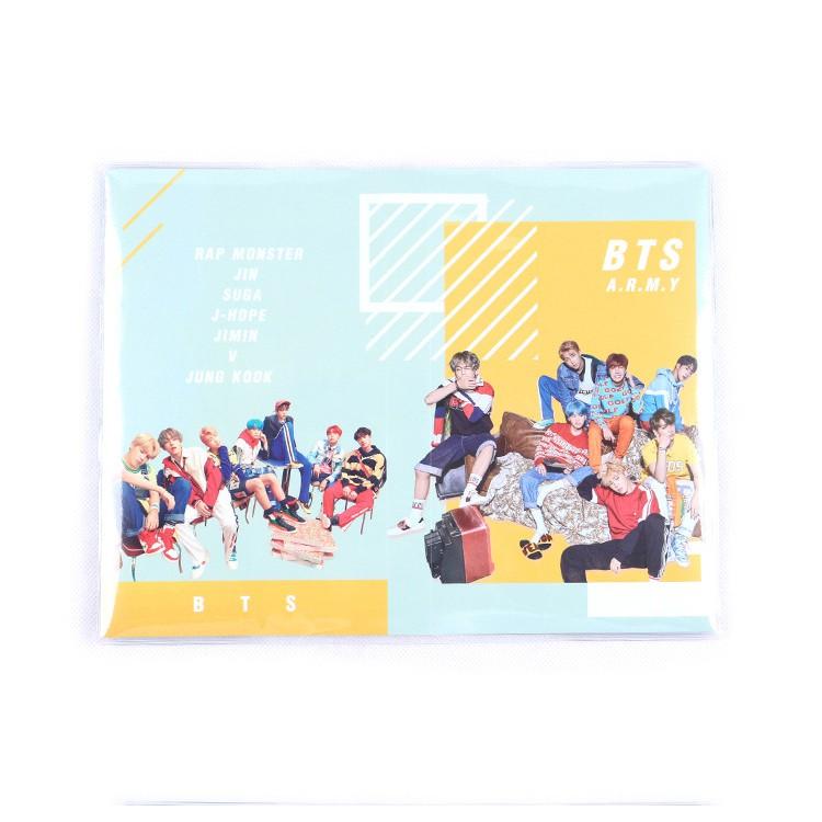 Chủ thẻ tên album ảnh cho BTS Lomo Photocard