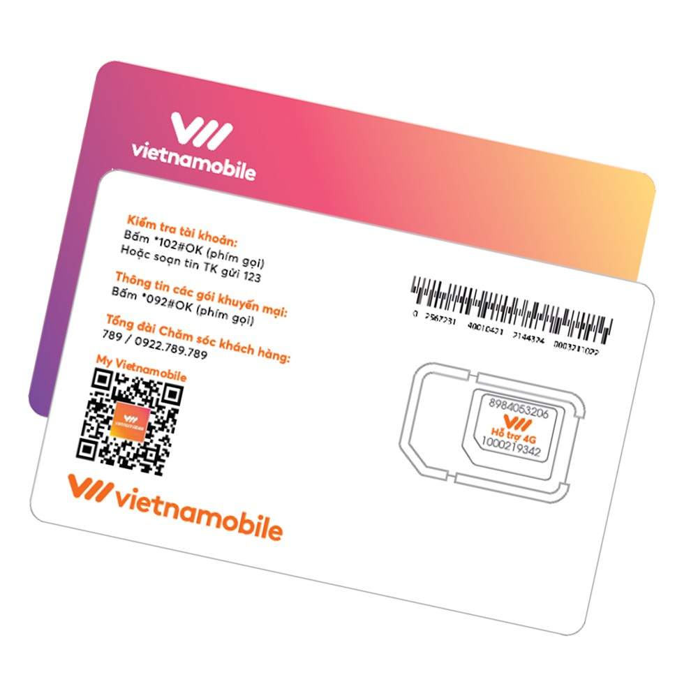 Hình ảnh [Mã VNMTK11 Mua Giá 0Đ] Siêu Sim Tiện Ích Miễn phí Data Gọi & SMS nội mạng - Duy trì chỉ 20k/tháng - Vietnamobil-4