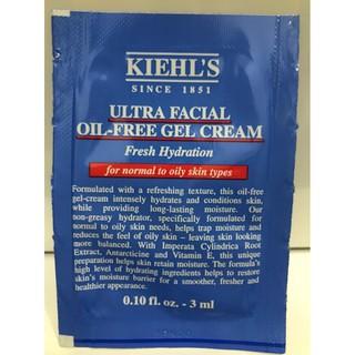 [ Sample 3ml ] Kem dưỡng ẩm cho da dầu Kiehls Ultra Facial Oil-Free Gel Cream