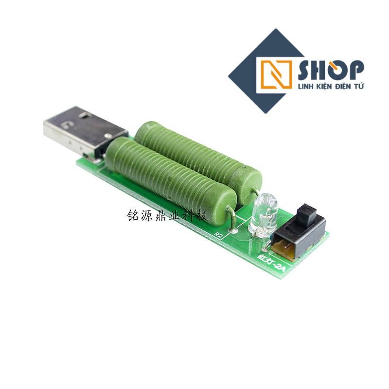 Mạch test dòng tối đa cổng USB