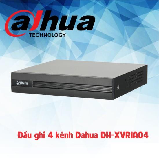 Đầu ghi hình 4 kênh Dahua XVR1A04 , hỗ trợ tất cả camera chuẩn