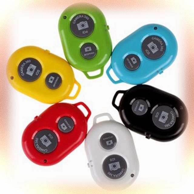 MẪU Remote Chụp Hình Bluetooth Cho Điện Thoại Ios Và Android MỚI RẺ