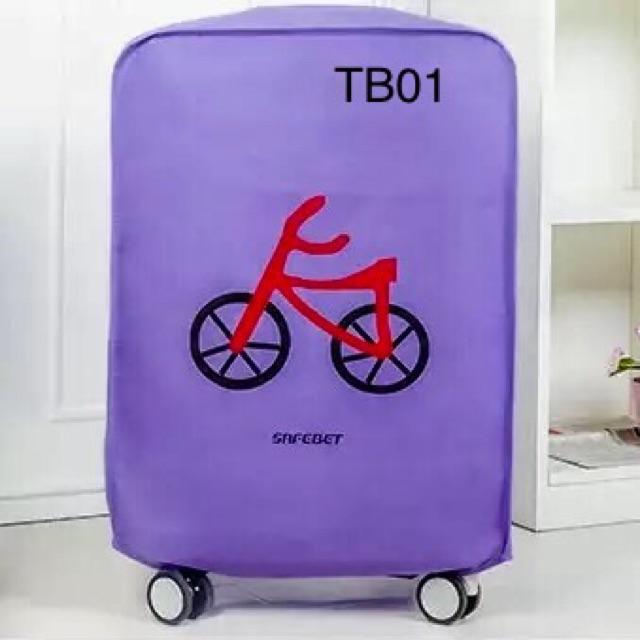 Túi bọc bảo vệ vali siêu kute (TB01)