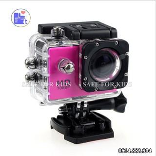Camera Hành Trình Ô Tô Xe Máy SJ4000 Chống Thấm Nước 30m, Zoom 4x Màn Hình LCD