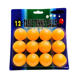 12Pcs Professional 40mm Ping Pong Training Balls for All Players Table Tennis