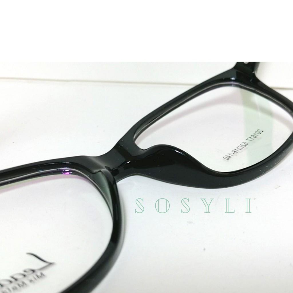 Gọng kính cận Oval TRẺ TRUNG – CÁ TÍNH Leader TR90 201617