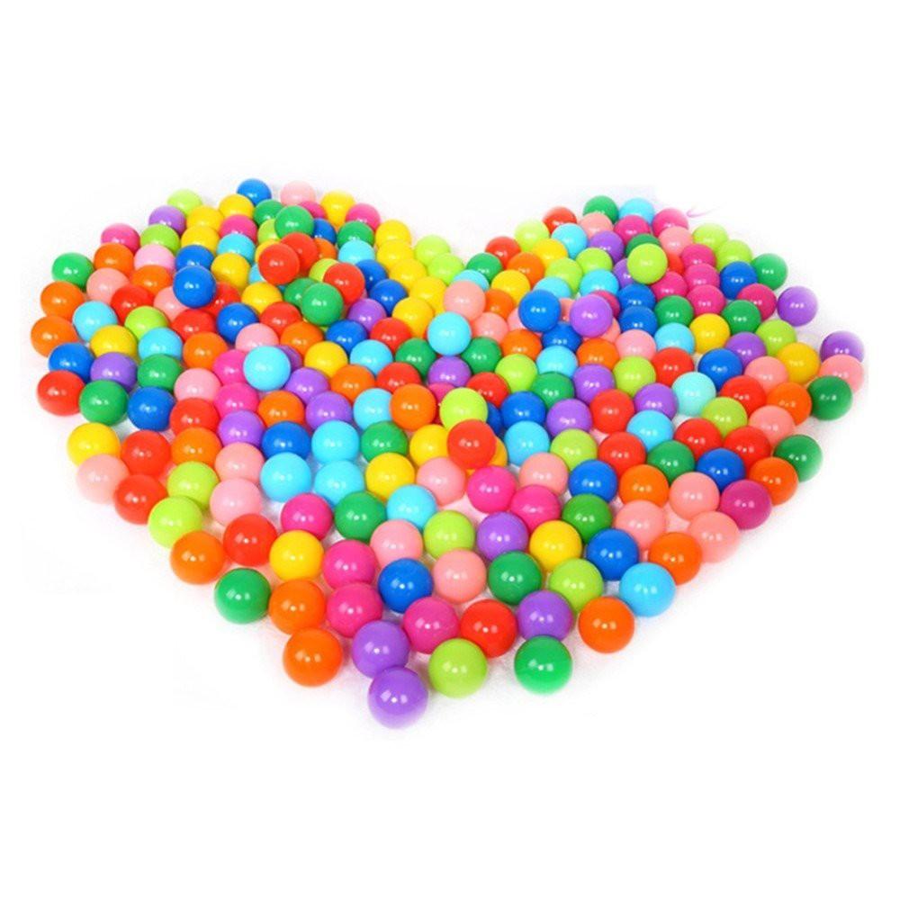 [FREE SHIP TỪ 99k] Túi 100 quả bóng nhựa nhiều màu sắc