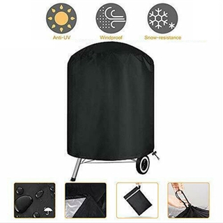 Barbecue Cover Fade resistant Waterproof Heavy Duty Gas Grill 75x70cm Black Portable Convenient Outdoor Useful