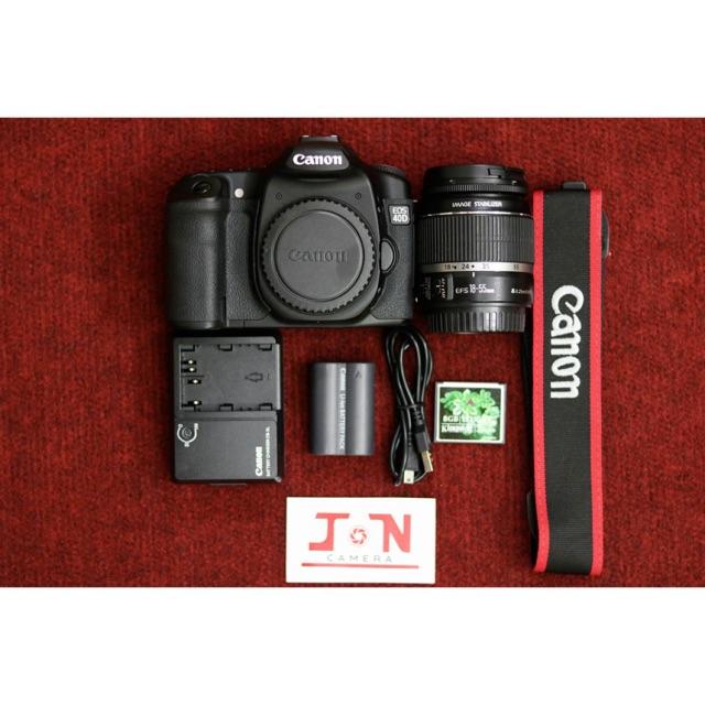Máy Ảnh CANON EOS 40D Kèm Lens EF-S 18-55 f/3.5-5.6 Mới 99%