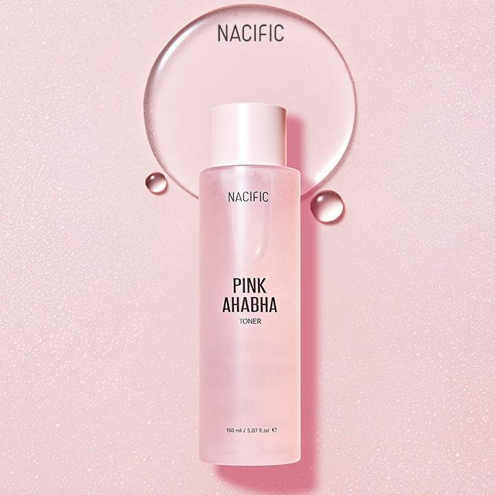 HÀNG MỚI VỀ] Toner trị mụn NACIFIC Pink AHA-BHA Toner 150ml   Shopee Việt  Nam