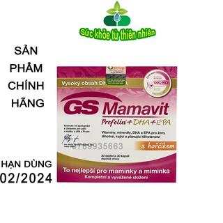 GS Mamavit Prefolin DHA Cung Cấp Dưỡng Chất Cần Thiết Cho Phụ Nữ Mang Thai Và Cho Con Bú