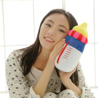 Búp Bê Nhồi Bông Hình Bình Sữa Xinh Xắn