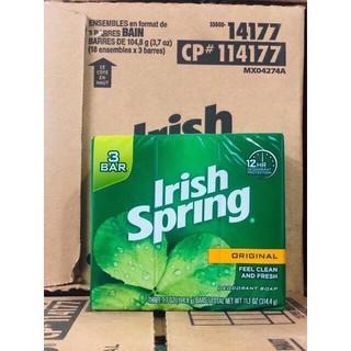 [HÀNG USA] XÀ BÔNG IRISH SPRING ORIGINAL FEEL CLEAR AND FRESH MỸ, THƠM MÁT DIỆT KHUẨN