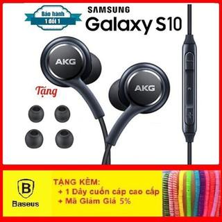 Tai Nghe Samsung AKG S10CAO CẤPTai Nghe Nhét Tai Âm Thanh Tuyệt Hảo (Tặng Kèm 4 Nút Tai Thay Thế) - Hàng Full Hộp