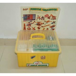 95% Đồ chơi Thùng lắp ráp cơ khí sáng tạo Gigo Junior Engineer