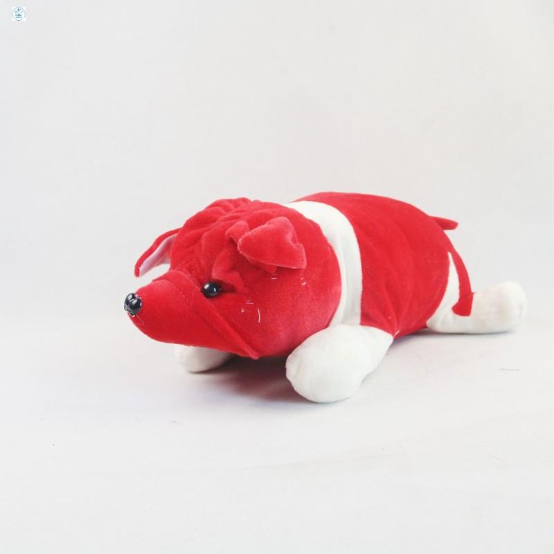Gấu bông Oenpe Pitbull màu đỏ HÀNG CÒN TRONG KHO