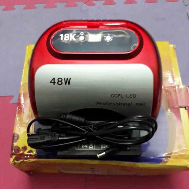 Máy hơ 48w bảng điện tử công nghệ 18k