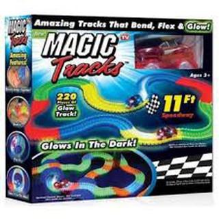 Bộ Lắp Ghép Đường Đua Ô Tô Magic Tracks 165pcs