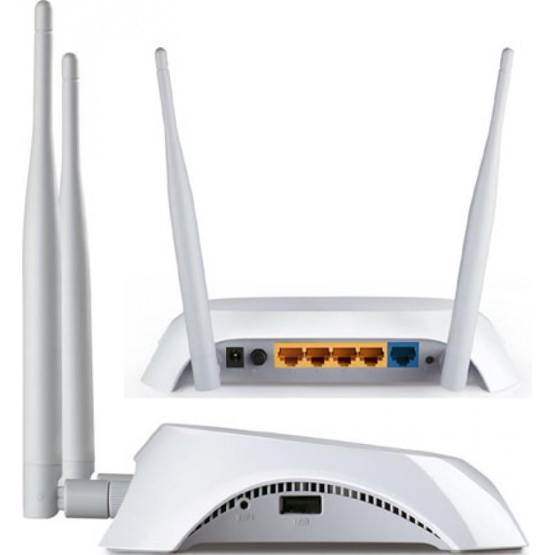 [Mã 267ELSALE hoàn 7% đơn 300K] Router Wifi TP-Link TL-MR3420 Chuẩn N 300Mbps