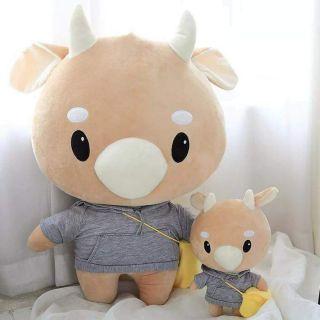 (giá shock) Gấu bò chăm chỉ thư kí Kim sao thế cực mịn hàng loại 1