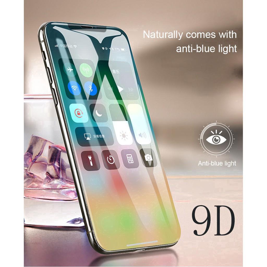 Miếng dán màn hình cường lực cao cấp 9D dành cho iphone 6/6s/6p/6sp/7/8/7p/8p/x/xs/xr/xsmax