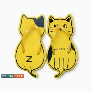 Dép xốp nữ, dép Thái Zelda Star xỏ ngón dây mảnh con mèo - DX0380321 thumbnail