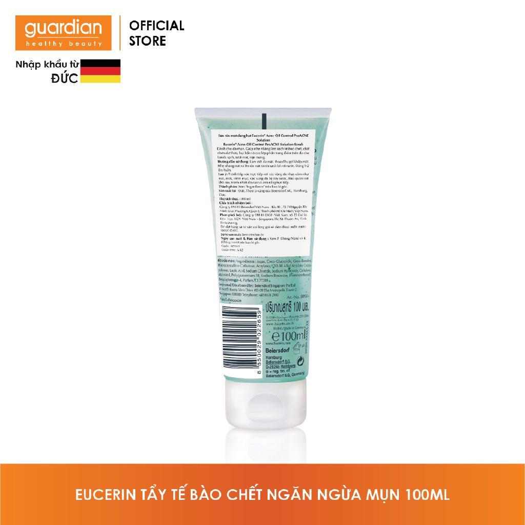 Tẩy tế bào chết ngăn ngừa mụn Eucerin Pro Acne Scrub 100ml-2