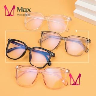 💋MAX Unisex Blue Light Blocking Glasses Radiation Protection Eyeglasses Computer Goggles Vision Care Ultralight Flexible Fashion Flat Mirror Eyewear/Multicolor