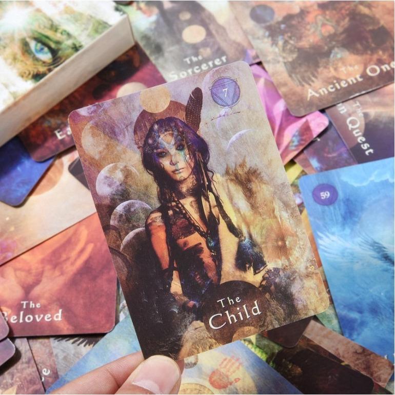 【COD】Mystical Shaman Oracle Cards Tarot Game @STTEAM