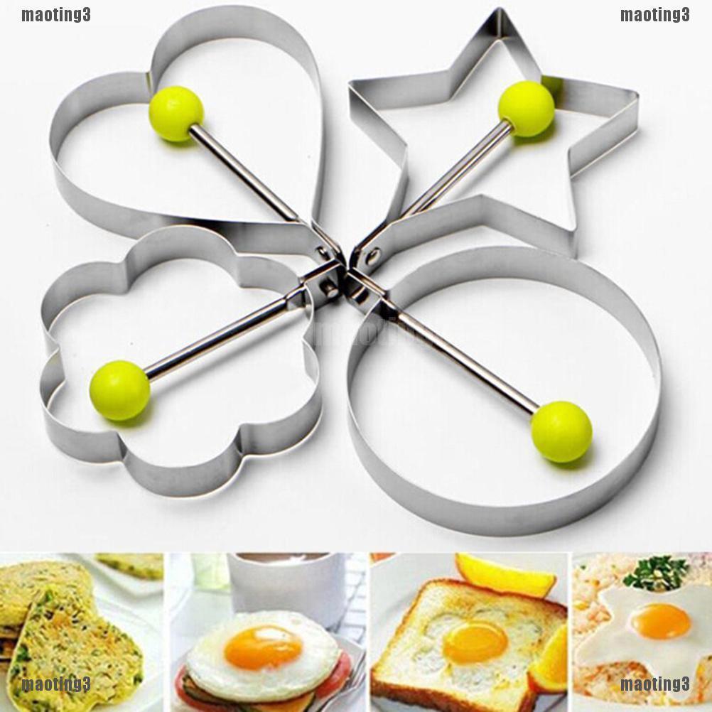 ❤Khuôn làm trứng ốp la bằng inox 4 kiểu dáng độc đáo - 14333033 , 2285279781 , 322_2285279781 , 16100 , Khuon-lam-trung-op-la-bang-inox-4-kieu-dang-doc-dao-322_2285279781 , shopee.vn , ❤Khuôn làm trứng ốp la bằng inox 4 kiểu dáng độc đáo