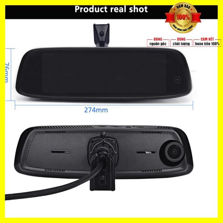 Camera hành trình cao cấp Phisung tích hợp 3 camera, 4G, Android, Wifi E09-3 - Bảo hành 12 tháng