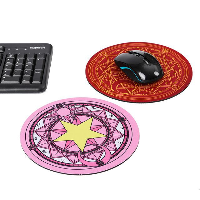 Đệm lót chuột máy tính hình trái cây hoạt hình 22cm   Clovershop68
