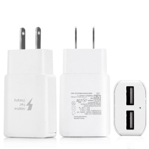 EU/US Plug Dual USB Quick Charge QC 3.0 Wall Charger Adapter for iphone GD