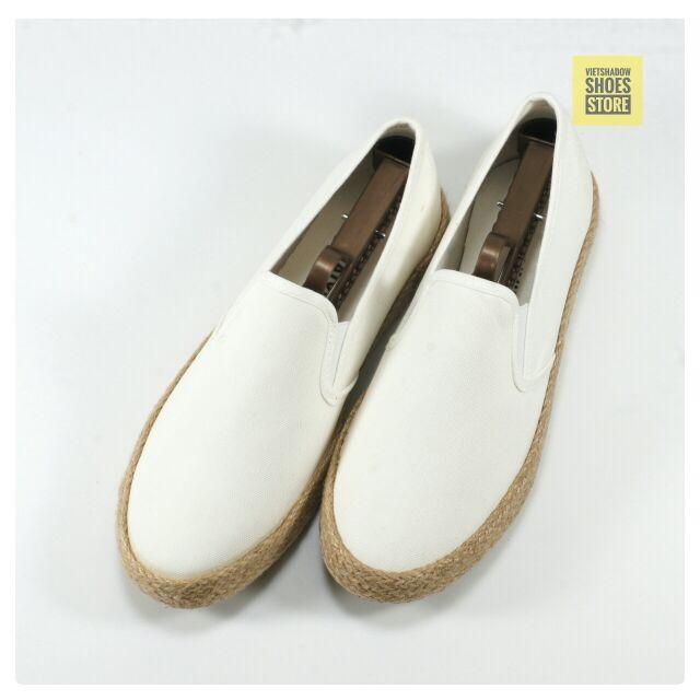 Slip on | giày lười vải nam đế bo đay dáng classic - Mã SP: 7261-trắng - 2993471 , 122957507 , 322_122957507 , 235000 , Slip-on-giay-luoi-vai-nam-de-bo-day-dang-classic-Ma-SP-7261-trang-322_122957507 , shopee.vn , Slip on | giày lười vải nam đế bo đay dáng classic - Mã SP: 7261-trắng
