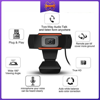 XGamer 480P 720P 1080P SD Webcam Web Camera With MIC For Computer For PC Laptop Skype MSN Livesteam