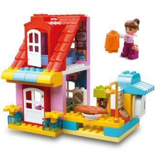 smoneo - Bộ lego (nguyên hộp mới) lắp ráp ngôi nhà của bé tương thích lego duplo thumbnail