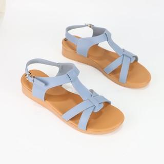 Giày sandal cao 3cm Cillie da thật 1008