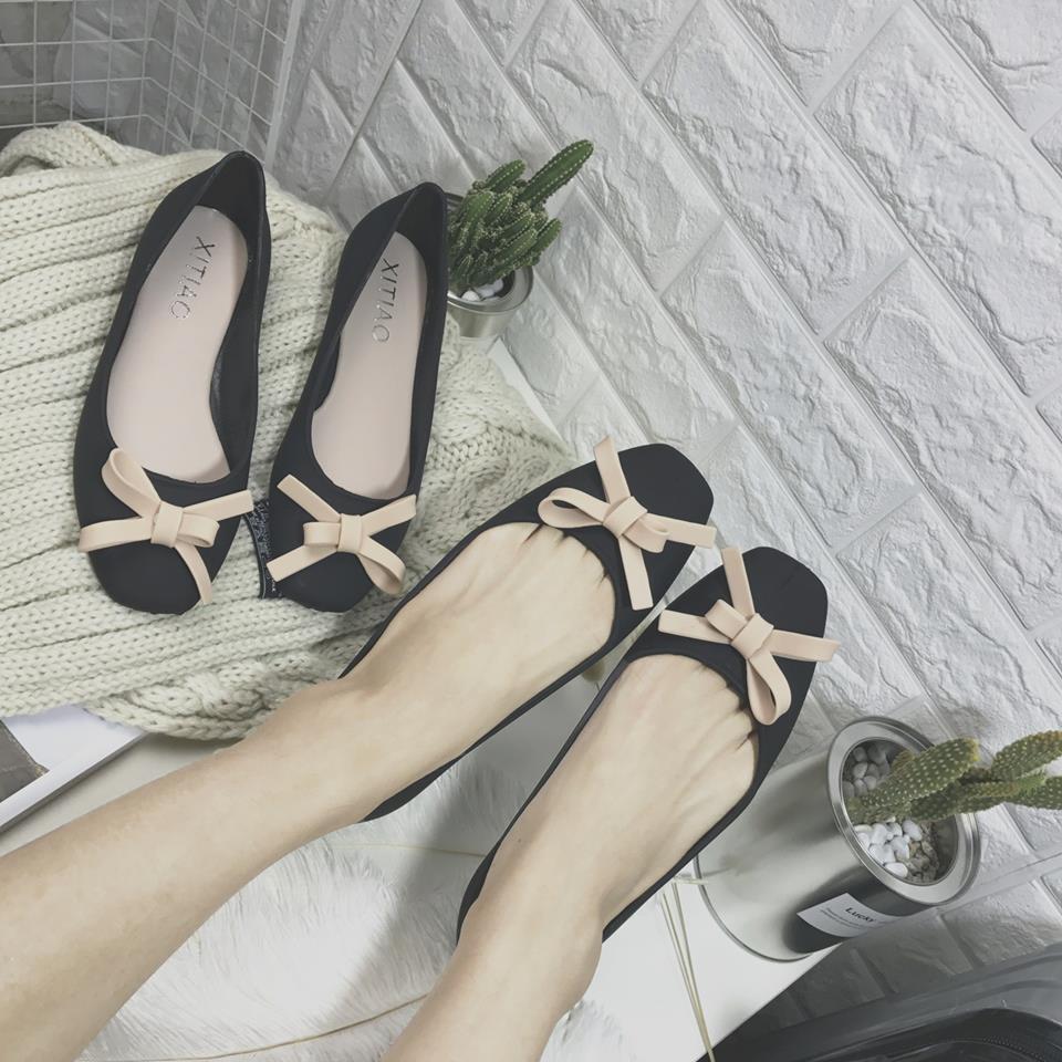 Giày búp bê nhựa êm chân - 6336 - 2911729 , 1058752793 , 322_1058752793 , 217000 , Giay-bup-be-nhua-em-chan-6336-322_1058752793 , shopee.vn , Giày búp bê nhựa êm chân - 6336