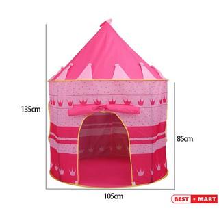 Lều Bóng lâu đài Công chúa – Hoàng Tử cho bé