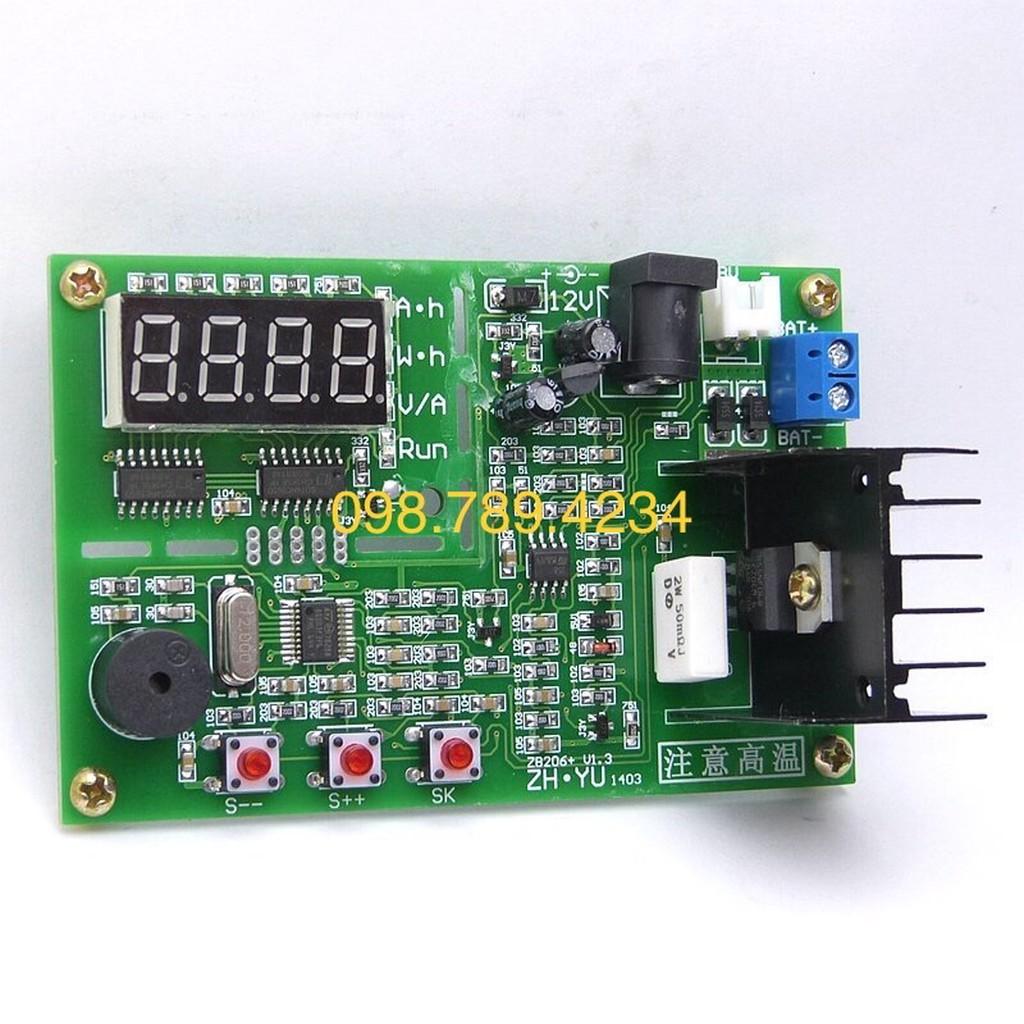 Mạch đo dung lượng pin lithium