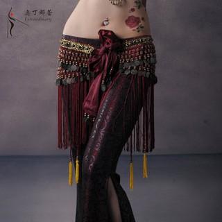 Khăn tay biểu diễn gió bộ lạc dây đeo tay múa bụng odinna Lei mới tua thực hành cho người mới bắt đầu
