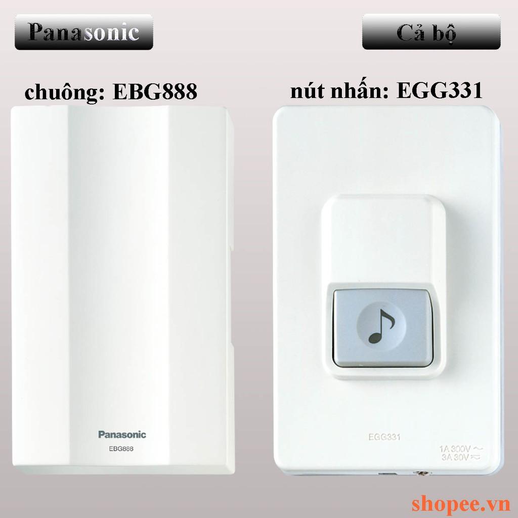 Chuông cửa (chuông điện)  Panasonic(EBG888+EGG331) trọn bộ hoặc mua rời.