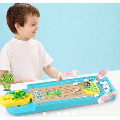 [Nhập mã TOYJULY giảm 10% tối đa 20K đơn từ 99K]Bowling ếch cực kỳ vui nhộn cho bé từ 3 tuổi