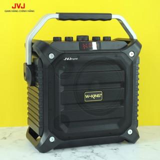 Loa Bluetooth Karaoke K3H JVJ kèm 1 mic không dây Công Suất Cực Lớn 100W, SIÊU BASS, ĐÈN LED SỐNG ĐỘNG-Bảo hành 12 tháng